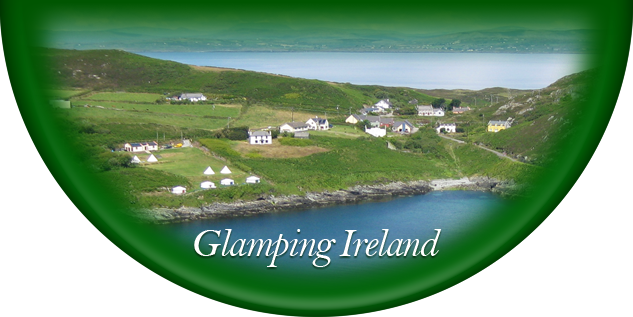 Glamping camping holidays in South Ireland