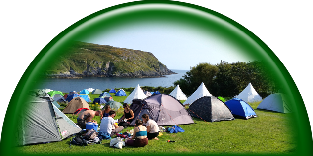 Your Camping on Cape Clear Island